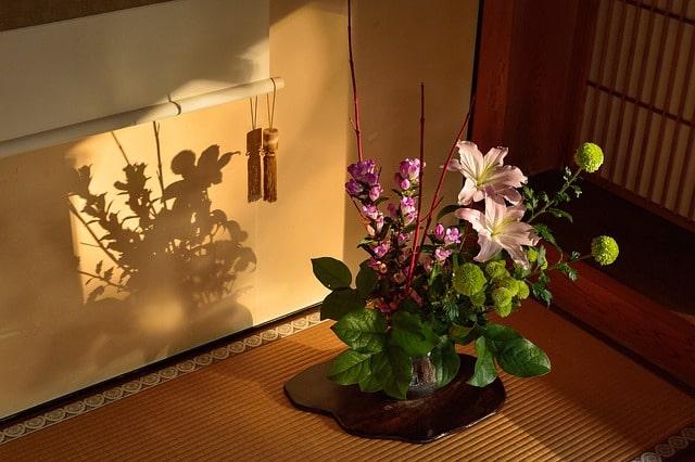 rideau de tradition japonnaise