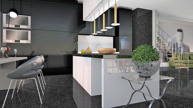 marbre découpé pour décoraton cuisine