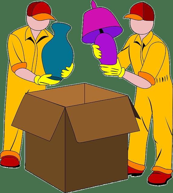 métier de déménageur