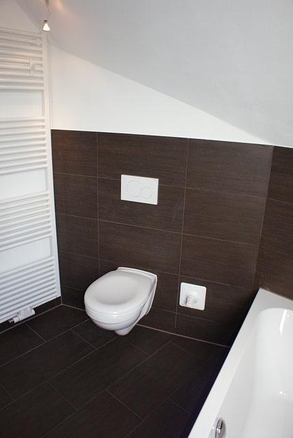 wc suspendu très design