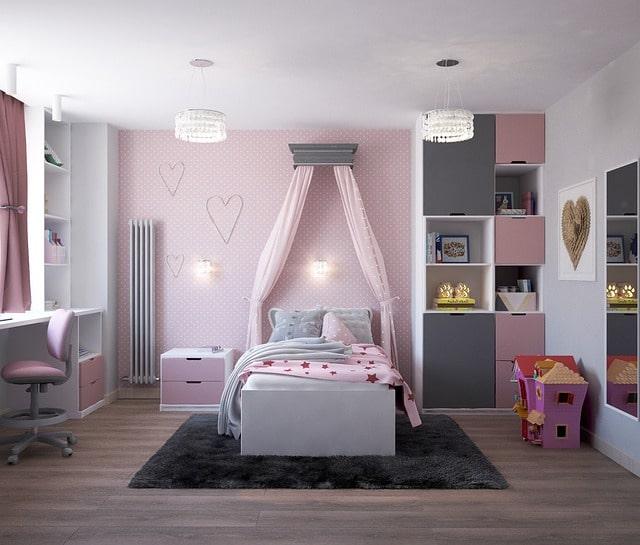 ciel de lit pour chambre d'enfant